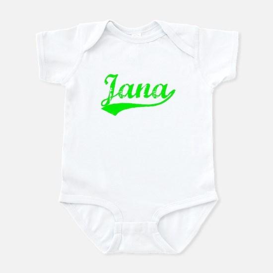 Vintage Jana (Green) Infant Bodysuit
