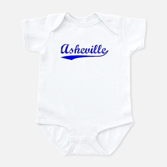 Vintage Asheville (Blue) Infant Bodysuit