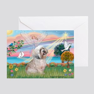 Lhasa Apso Lake Angel / Lhasa Apso Greeting Card