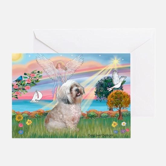 Lhasa Apso Lake Angel / Lhasa Apso Greeting Card
