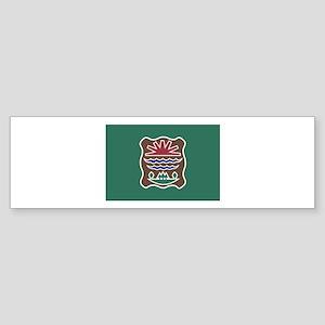 Abenaki Flag 2 Bumper Sticker