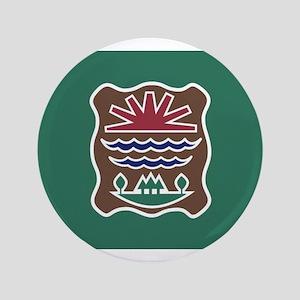 """Abenaki Flag 2 3.5"""" Button"""