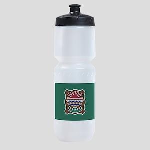 Abenaki Flag 2 Sports Bottle