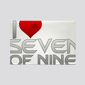 I Heart Seven of Nine Magnets