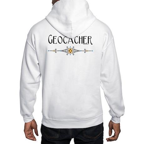 Geocacher Hooded Back Image Sweatshirt