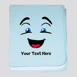 Funny Message baby blanket