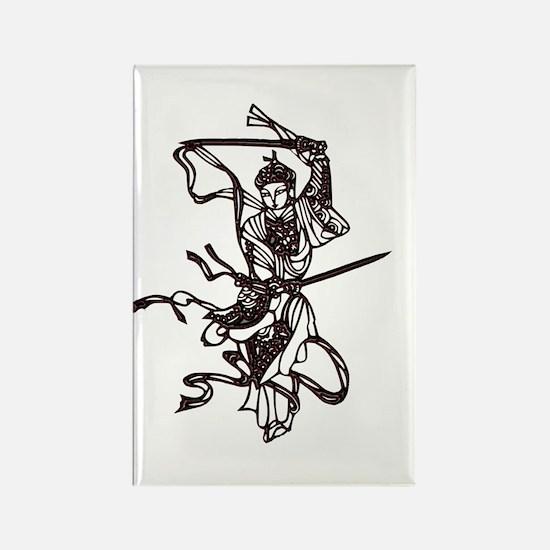 Sword dancer Rectangle Magnet
