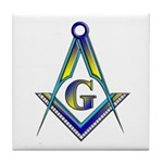 Masonic Tile Coaster
