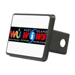 Westislandweather.com Rectangular Hitch Cover