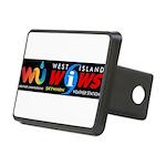 Westislandweather.com Rectangular Hitch Cover