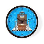 Masonic Blue Lodge Wall Clock