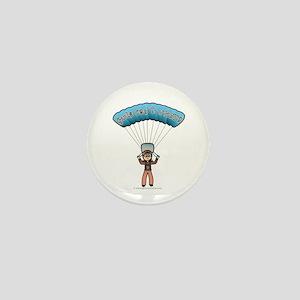 Light Sky Diver Mini Button