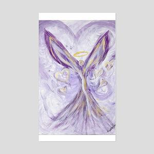 angel of love Rectangle Sticker