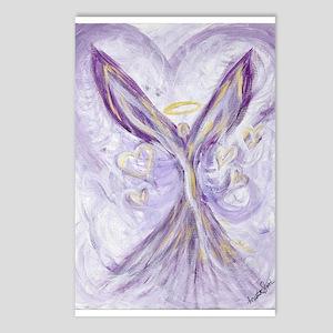 angel of love Postcards (Package of 8)