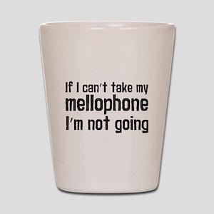 Funny Mellophone Shot Glass