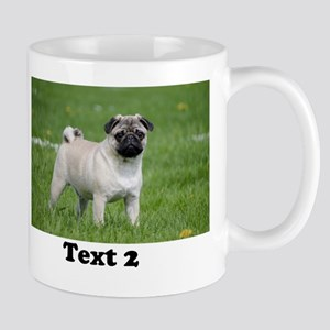 CUSTOMIZE Add 2 Photos 2 Texts Mugs
