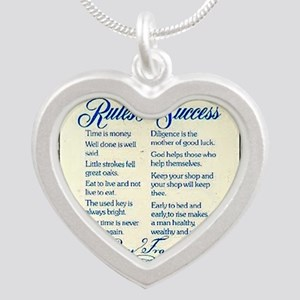 rules for success keepsake box Necklaces
