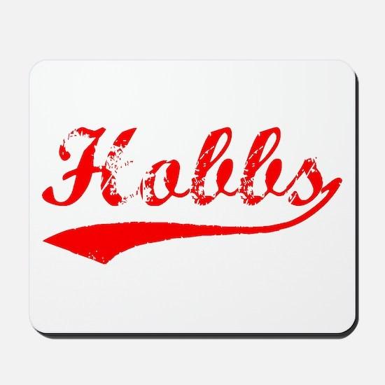 Vintage Hobbs (Red) Mousepad