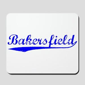Vintage Bakersfield (Blue) Mousepad