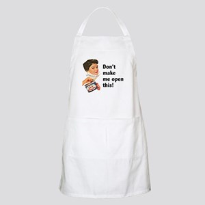 Can of Whoop-Ass BBQ Apron