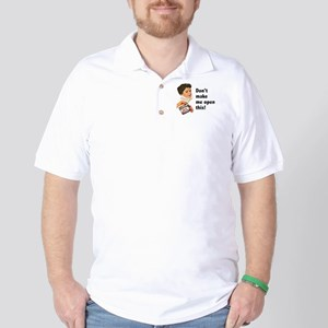Can of Whoop-Ass Golf Shirt