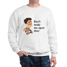 Can of Whoop-Ass Sweatshirt