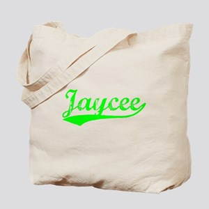 Vintage Jaycee (Green) Tote Bag