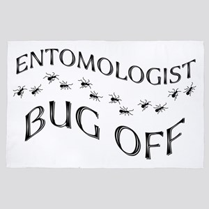 Entomologist Bug Off 4' x 6' Rug