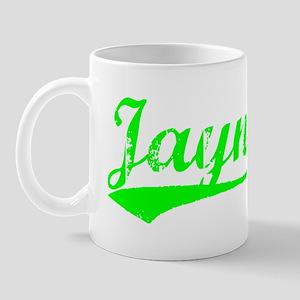 Vintage Jayne (Green) Mug