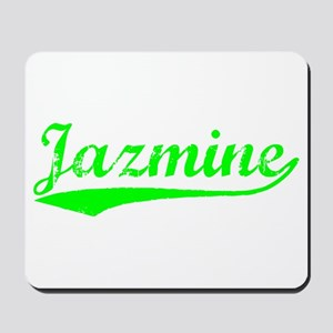 Vintage Jazmine (Green) Mousepad