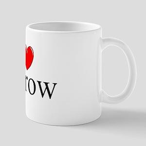 """""""I Love (Heart) Escrow"""" Mug"""