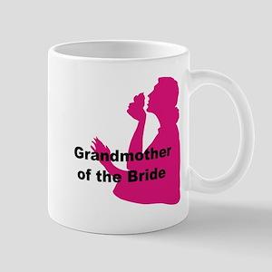 Silhouette Grandmother of the Bride Mug