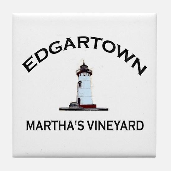 Edgartown Tile Coaster