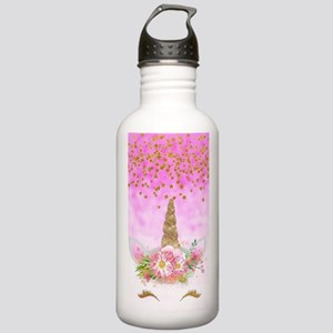 Fantasy Pink Unicorn Stainless Water Bottle 1.0L