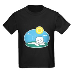 Silly Melting Snowman Design T
