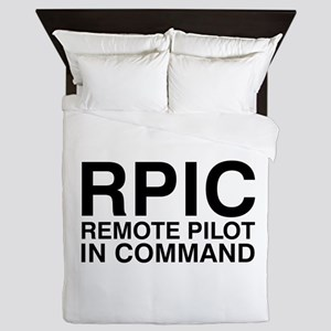 Remote Pilot in Command Queen Duvet