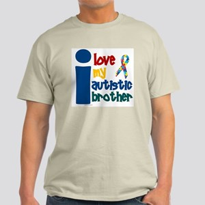 I Love My Autistic Brother 1 Light T-Shirt