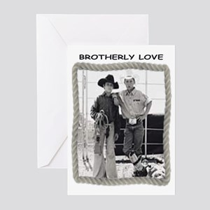 BROTHERLY LOVE Greeting Cards (Pk of 10)