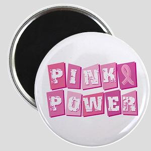Pink Power Block Magnet