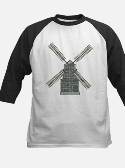 Classic Windmill Kids Baseball Jersey