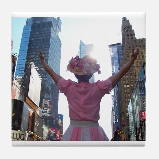 Minnie Pearl Tile Coaster