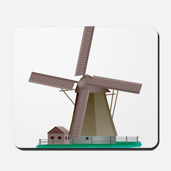 Windmill Power Mousepad