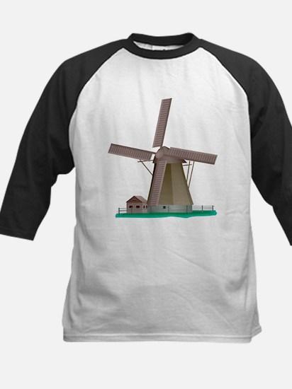 Windmill Power Kids Baseball Jersey
