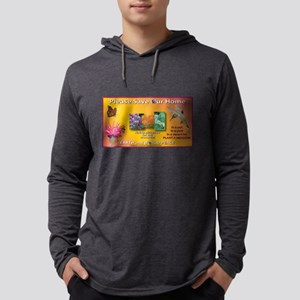 SOH: Butterfly, Hummer, Bee Mens Hooded Shirt