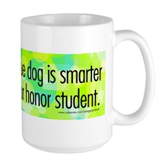 Large Mug. Smart rescue dog.