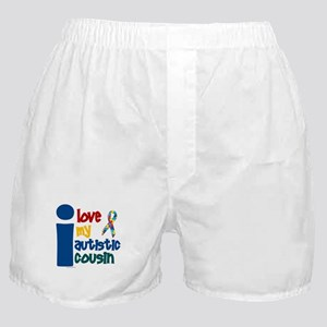 I Love My Autistic Cousin 1 Boxer Shorts