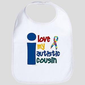 I Love My Autistic Cousin 1 Bib