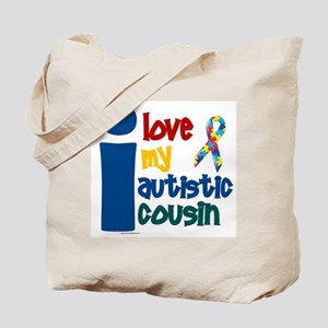 I Love My Autistic Cousin 1 Tote Bag