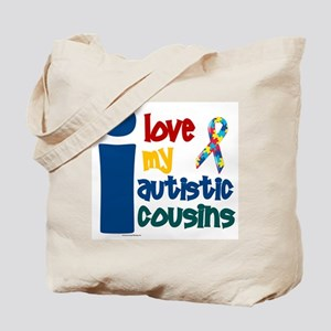 I Love My Autistic Cousins 1 Tote Bag
