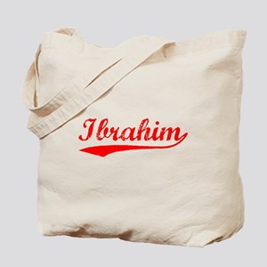 Vintage Ibrahim (Red) Tote Bag